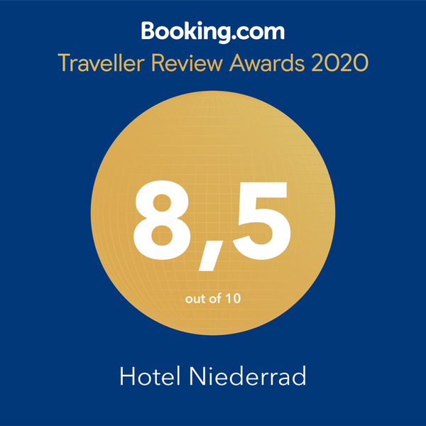 booking awards Hotel Niederrad
